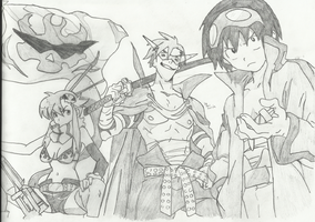 Team Gurren! by AlexTheBro