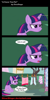 A Favor Too Far by SilverSlinger