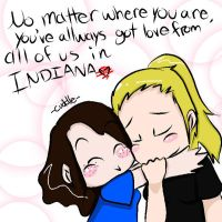 With Love from Indiana by InsaneLadyOfDoom