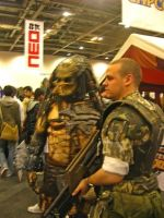 Predator and Army by Lozeng3r
