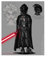 Frozen Wars - Darth Gelida by Niban-Destikim