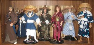 Samurai Toy Shelf by A-J-M-74