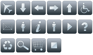 grey Icon Pack by JohnKain