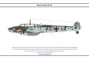 Bf 110 C ZG52 1 by WS-Clave
