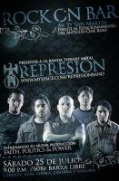 represion - flyer by cesar470