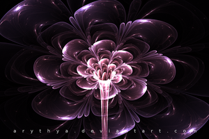 Glass Flower by Arythya