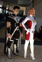 Black Lantern + Saturn Girl 1 by Insane-Pencil