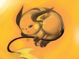 Raichu by Ami-Cat