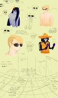 Homestuck sketch dump by TamaCorp