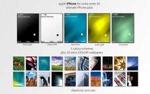 Nokia iPhone Pack by snm-net