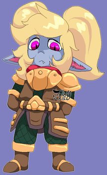 Poppy Keeper of the Hammer [LEAGUE OF LEGENDS] by Tsiki10