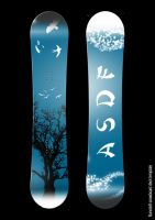 ASDF Snowboard by The-7th-Sin