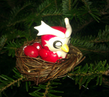 Nesting Delibird by LaPopeArmadillo