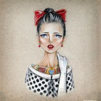 Red Lips by MATZOo