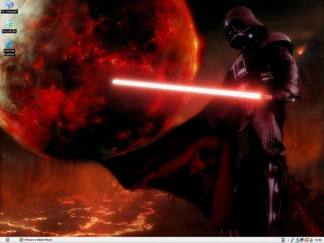 Darth Vader Desktop by Shadrak