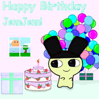 Happy birthday JennJenn by Bubby-Bobble