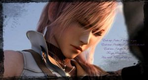Lightning's message to Serah by rose1371999