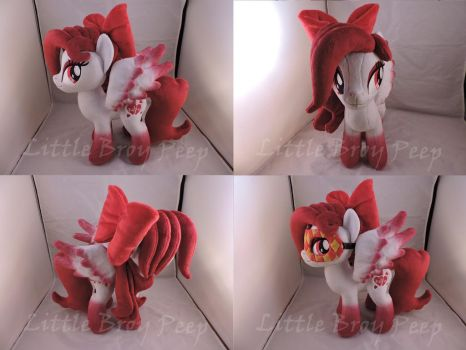 MLP OC Lovestruck Plush (commission) by Little-Broy-Peep