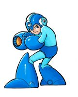 Megaman by Androsofthewoods