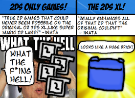 Improvements For The 2ds That Would Be Worse by thegamingdrawer