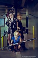 Final Fantasy Girls by BigWhiteBazooka