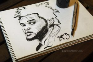 The Weeknd by ilmyart
