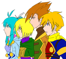Golden Sun by Pharos-Chan