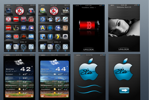 my elite wip iphone theme by bostonguy3737