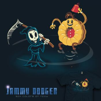 Jammy Dodger - Doctor Who tee by InfinityWave