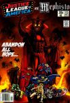 Justice League of America vs. Mephisto by Gwhitmore
