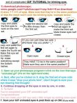 BLINKING EYES tutorial -OLD- by Miivei