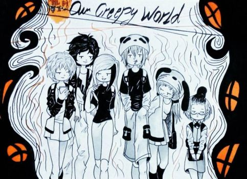 Our Creepy World by Monii-chin