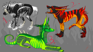 special Halloween auctions! by Velkss
