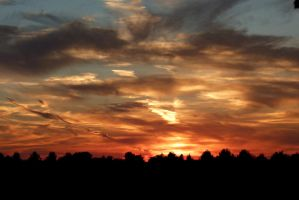 Autumn Sunset by Michies-Photographyy