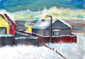 Winter Painting by nadine20