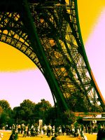 Tour Eiffel 2 by DemonioHorrible