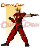 Crimson Dawn Character Designs - Crimson Dawn by RAM-Horn