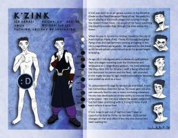 PS - K'zink Character Sheet by kaitou-kage