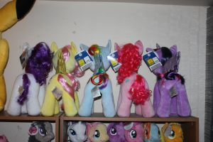My Little Pony - Build-A-Bear - Collection - Back by MadDoggyca