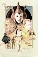 The Phantom Menace by BenCurtis