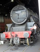engine sheds at GROSMONT NYMR 44806 10D ,lms41 by Sceptre63