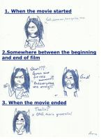 How I watched the movie... by Miss-de-Lio