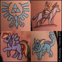 Fandom 'Tattoos' at Coscon 2 by swandog