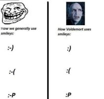 How Voldemort uses them by MetallicaDutch