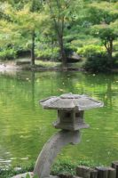 Japanese garden sculpture by idnurse41