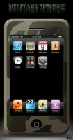 Military iPhone by KGY-Graphic