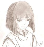 Haku (Nigihayami Kohaku Nushi) - Spirited Away by SoZettaSlow1313