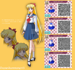 Minako Aino's School Uniform by OceanSummoner13