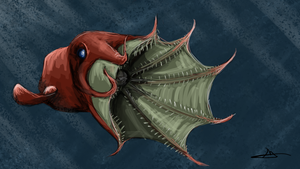 78 - Vampire Squid by Shasel