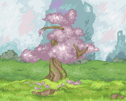 Speed pixel background by Kyle-Dove